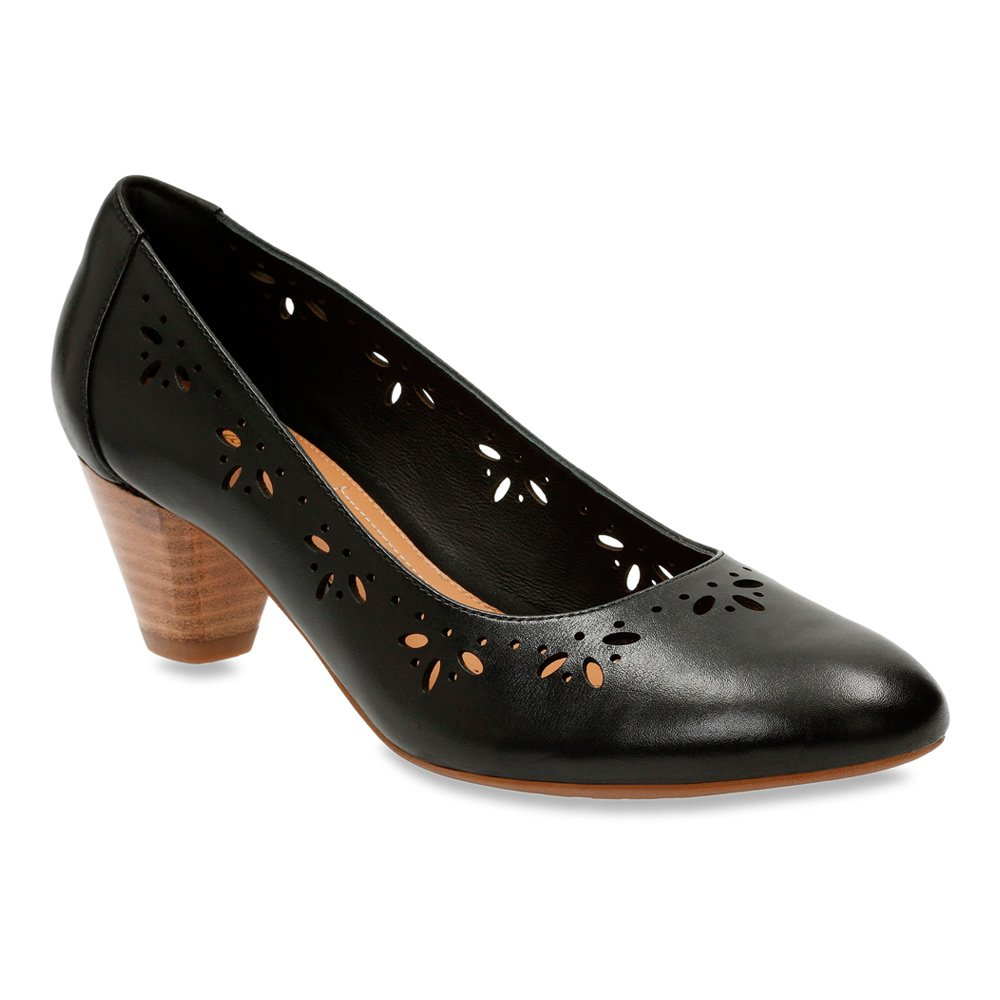 Clarks Woherren Denny Dazzle Slip-On Pumps schuhe,schwarz Leather,5.5 Leather,5.5 Leather,5.5 8d637f