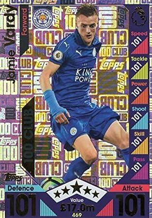 Match Attax Champions League 2016//17 complet 18 Carte Team Set Leicester City