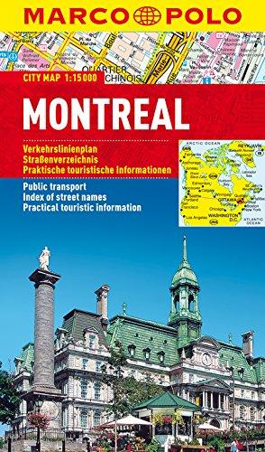 Montréal (Néerlandais) Carte – 22 janvier 2018 Collectif Marco Polo Verlag 3829730675 Canada
