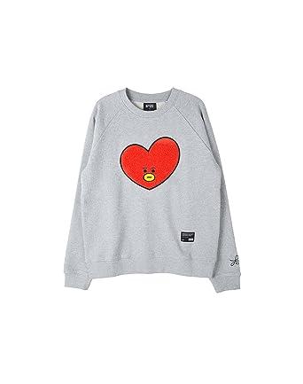 4a5f8c10a563 Amazon.com: BT21 Tata Basic Graphic Sweatshirts (Designed by BTS V ...