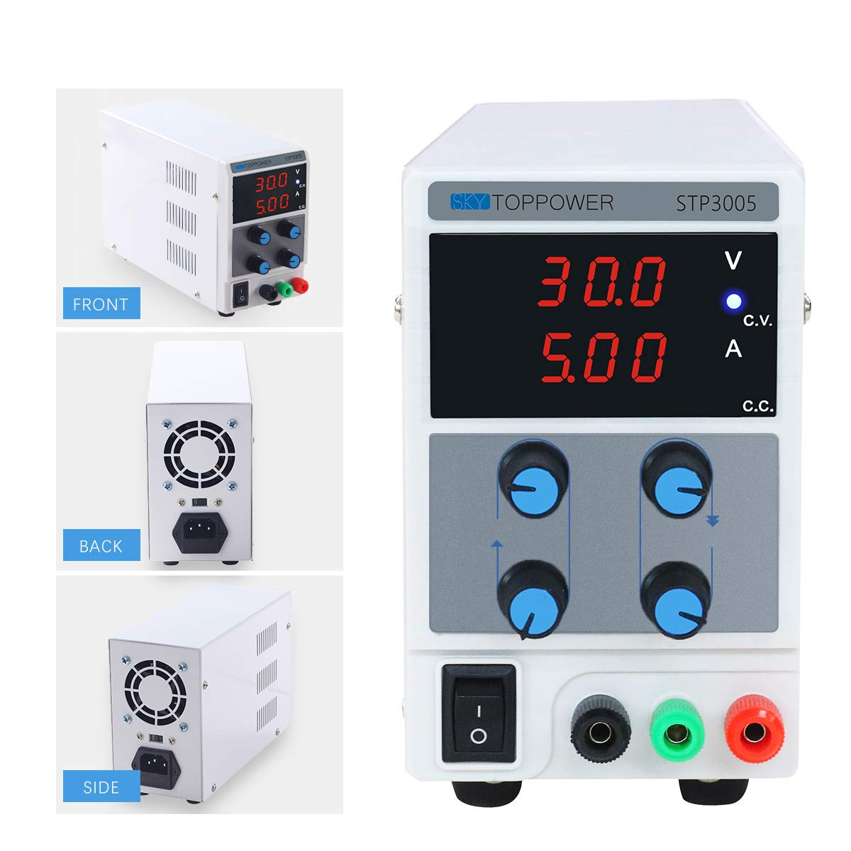 DC Power Supply Variable, Adjustable Switching Regulated