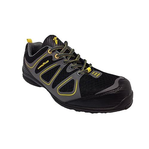 GoodyearGyshu1509 - Zapatillas de Seguridad Hombre, Color Negro, Talla 38 EU