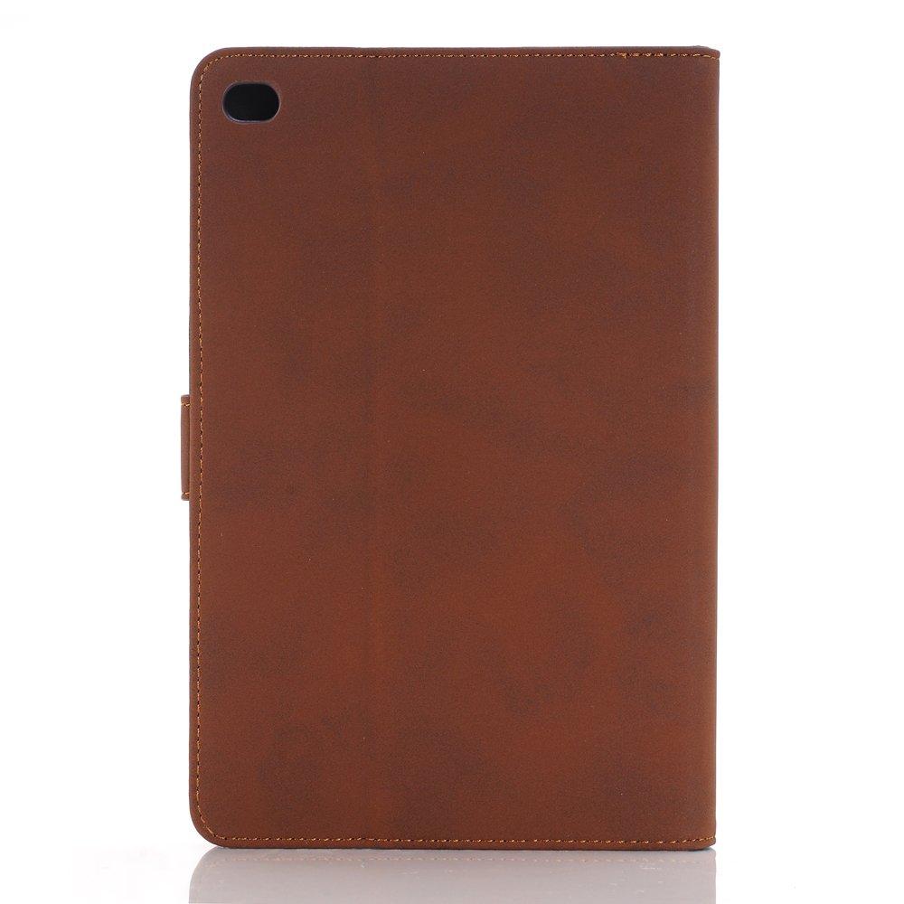 Mini iPad 5 Case 2019 Model, YiMiky Slim Folio Shell Smart Stand Case for 2019 Model iPad Mini 5 Ultra Slim Book Cover Protective Case for 7.9 Inch iPad Mini 5/ iPad Mini 4 2015 - Dark Brown by YiMiky (Image #6)