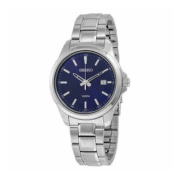 82504d0dd96c Reloj Seiko Neo Classic Sur153p1 Hombre Azul  Seiko  Amazon.es  Relojes