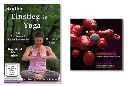 Package DVD Sanfter Einstieg in Yoga & CD Körperreise ...