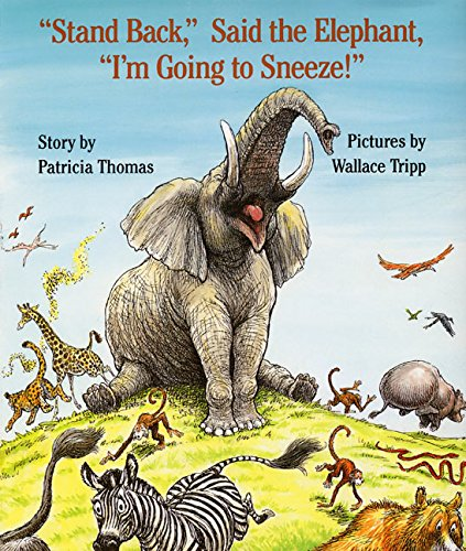 ''Stand Back,'' Said the Elephant, ''I'm Going to Sneeze!'' by Harper Collins (Image #4)
