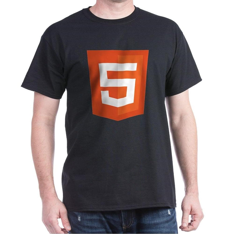 Amazon com cafepress html 5 badge t shirt 100 cotton t shirt clothing