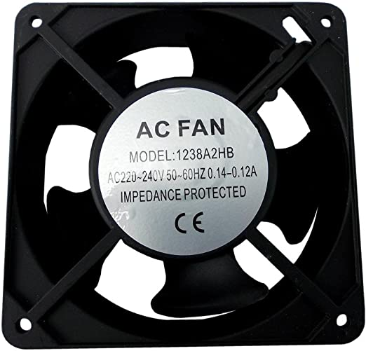 Airtech Axial Horno Motor de Ventilador de enfriamiento de ...