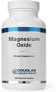 Douglas Laboratories - Magnesium Oxide - Supports Normal Heart Function and Bone Formation - 250 Capsules