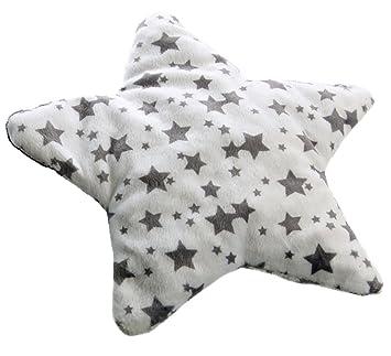 Top Cepewa 42800 Kirschkernkissen Stern Wärmekissen weiß grau little VJ65