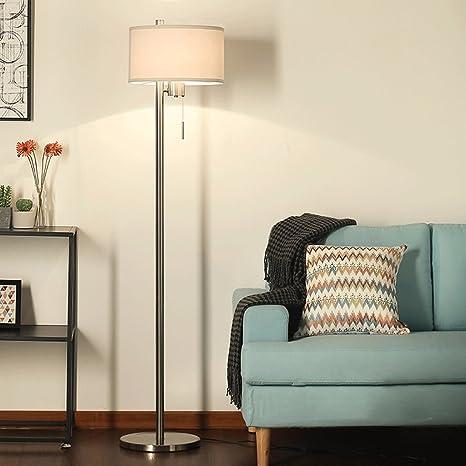 Lámpara Ojo Mr Suave LED Tela Fragile de pie luz Delgada clKF1J