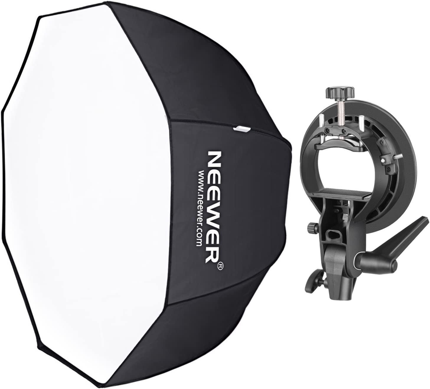 Neewer 24 x 24-Inch Speedlite Studio Flash and Umbrella Softbox with Carrying Bag for Portrait//Product Photography