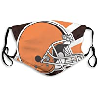 Reusable Washable Dust Filter and Reusable Mouth Warm Windproof Cotton Face (Men/Women, Cleveland Browns)