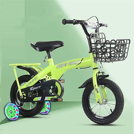 Dsrgwe Bicicleta niño, Bicicleta Niños, Entrenamiento de ...