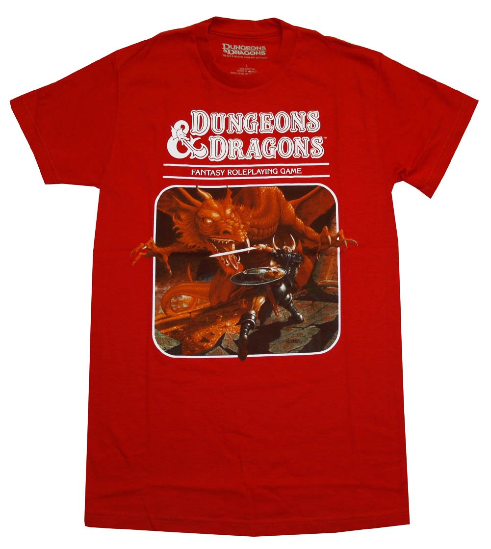 Dungeons Dragons Fantasy Roleplaying Game Adult T Shirt 1905