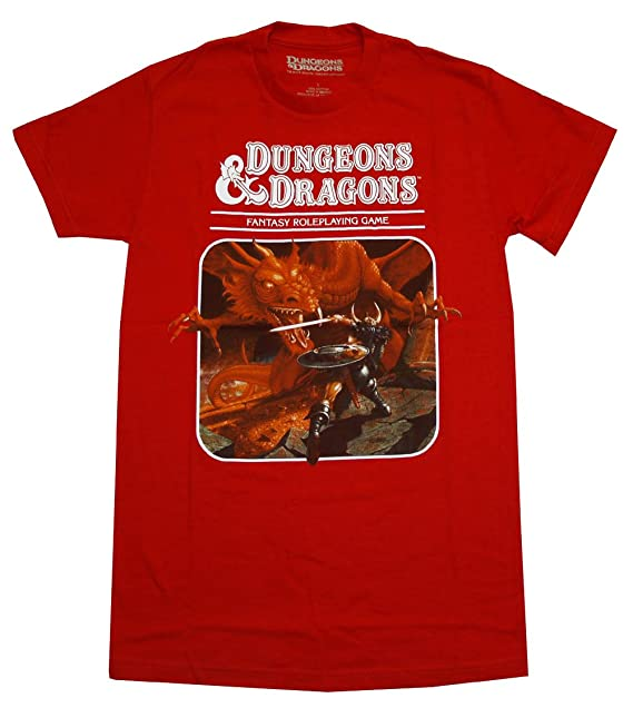 a6ef1826 bioworld Dungeons and Dragons T-Shirt: Amazon.ca: Clothing & Accessories