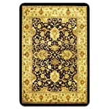 "deflect-o Harbour Pointe Decorative Chair Mat - Harbor Pointe Meridian Chair Mat, Vinyl, 46 x 60"", Floral"