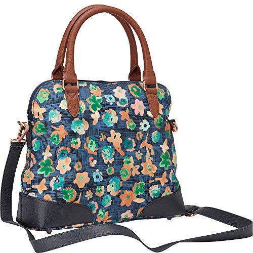 OILILY TASCHE - Etch Flowers - Handbag - Biscuit