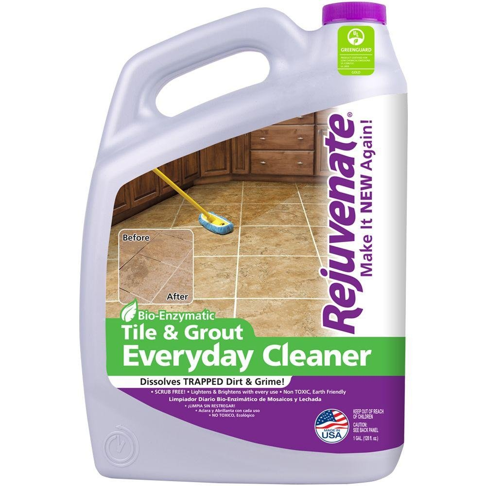 Rejuvenate Tile and Grout Everyday Cleaner, 128 Fluid Ounce by Rejuvenate
