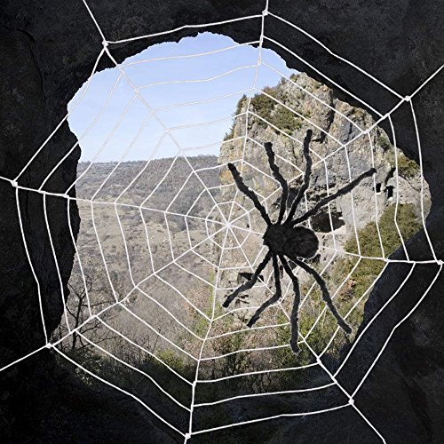 AmyHomie Giant Spider,Halloween Spiders Web,Best Halloween Decorations,Christmas Decor