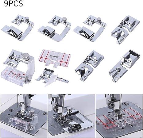 Pies para máquina de coser de CA. Incluye 3 prensatelas para ...