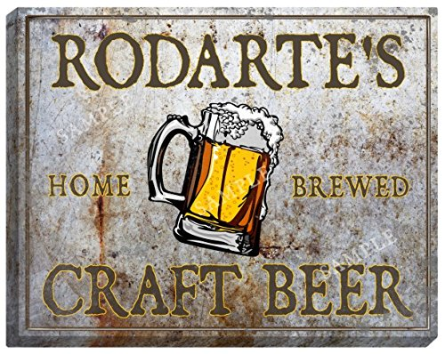 rodartes-craft-beer-stretched-canvas-sign-16-x-20