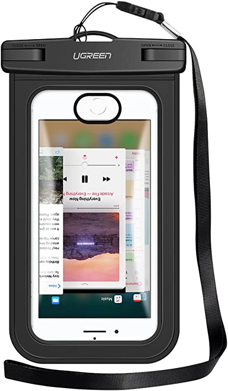 UGREEN - Funda Impermeable para Smartphone hasta 6,5 Pulgadas, IPX ...