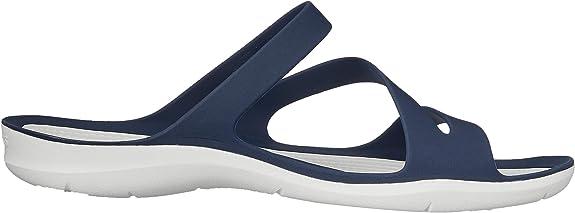 Crocs Swiftwater Sandal W, Sandalias con Punta Abierta para Mujer
