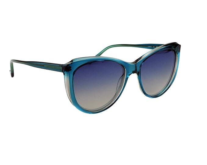 Liu Jo Lj694S 325 55 Gafas de Sol, Emerald/Rose, Mujer ...