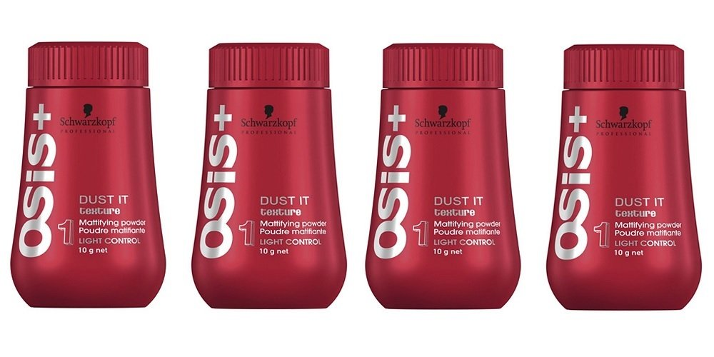 e884204407 Amazon.com : SuperCool OSIS Dust It Mattifying Powder by Schwarzkopf .35oz  (Pack of 4) : Hair Care Styling Products : Beauty
