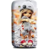 Samsung Grand Duos Back Cover - Styleo Sad Doll designer mobile back cover for Samsung Galaxy GRAND DUOS