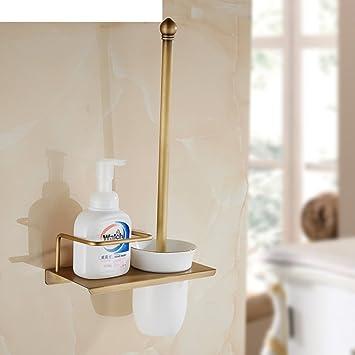 Alte Antike Toilette All Kupfer Wc Cup Set Badezimmer Regal