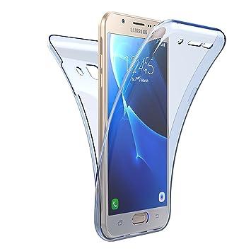 Carcasa Samsung Galaxy J5 2016, Caso Funda Samsung Galaxy J5 2016, JAWSEU Samsung Galaxy J5(2016) J510 J510H J510F Carcasa Caso Cover 360 Grados ...