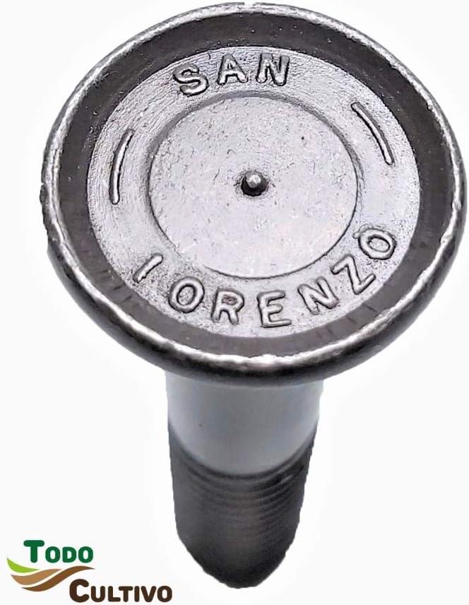 Tornillo de Arado 11X80 DIN 608. Caja 50 Uds. Tornilleria de máxima calidad marca San Lorenzo, con cabeza avellanada especial rejas de arado.