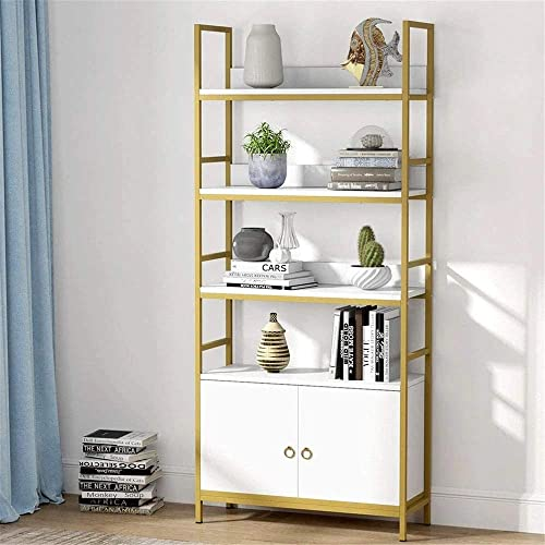 Tribesigns Gold Bookcase