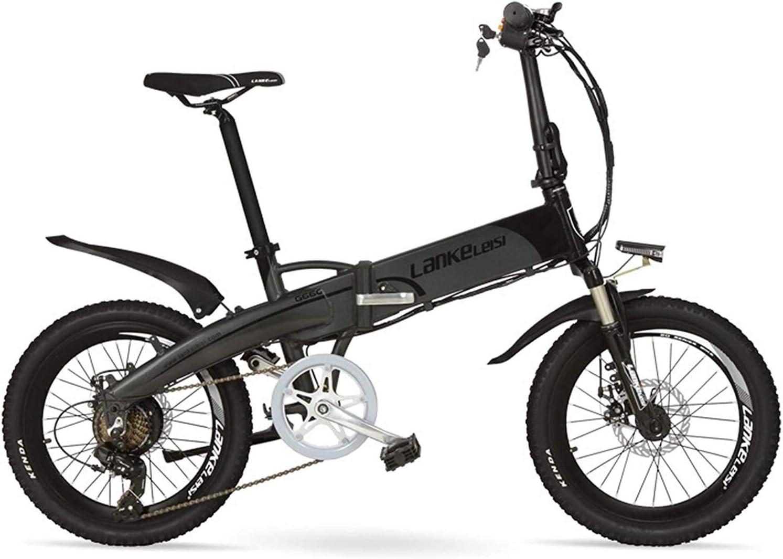 IMBM G660 20 Pulgadas montaña Plegable de la batería de Litio Bici 500W / 240W 48V Motor 14.5Ah Suspensión Tenedor pedaleo asistido Bicicleta eléctrica (Size : 500W 14.5Ah): Amazon.es: Hogar