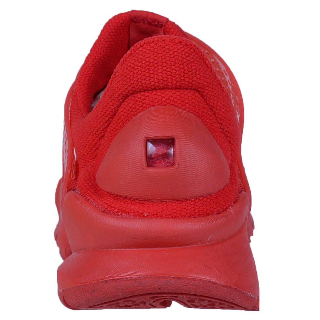 Amazon.com | Nike Mens Sock Dart KJCRD, University RED/University RED, 6 M US | Road Running