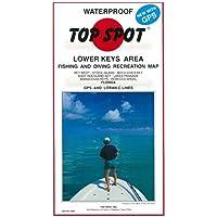 Top Spot N209 Map- Lower Key AreaKey West To Rebecca Shoal LORAN-C &