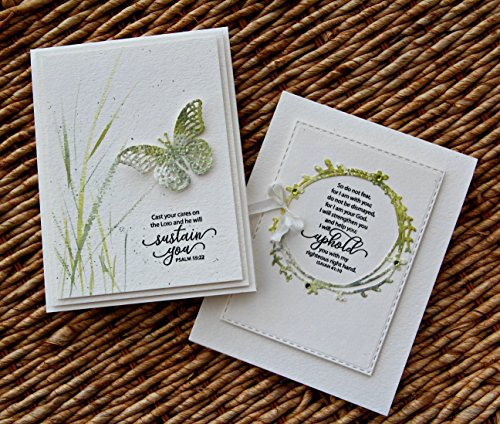 Stamp Simply Clear Stamps Fear Not and Words of Encouragement Christian Religious (2-Pack) 4x6 Inch Sheets - 17 Pieces by Stamp Simply (Image #3)