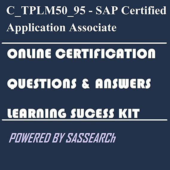 Amazon Ctplm5095 Sap Certified Application Associate