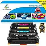 True Image Compatible HP CF410X 410X 410A CF410A Toner Cartridge for HP Color Laserjet Pro MFP M477fdw M477fnw M477fdn M477 M452dw M452nw M452dn M452 M377dw Toner Ink (CF410X CF411X CF412X CF413X)