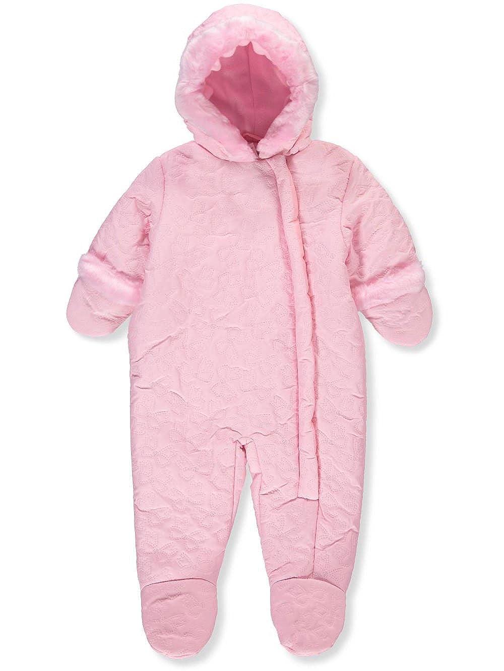 3aaa9f1c8 Amazon.com  Rothschild Baby Girls  Insulated Pram Suit - Petal Pink ...