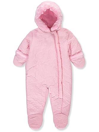 866eec812945 Amazon.com  Rothschild Baby Girls  Insulated Pram Suit - Petal Pink ...