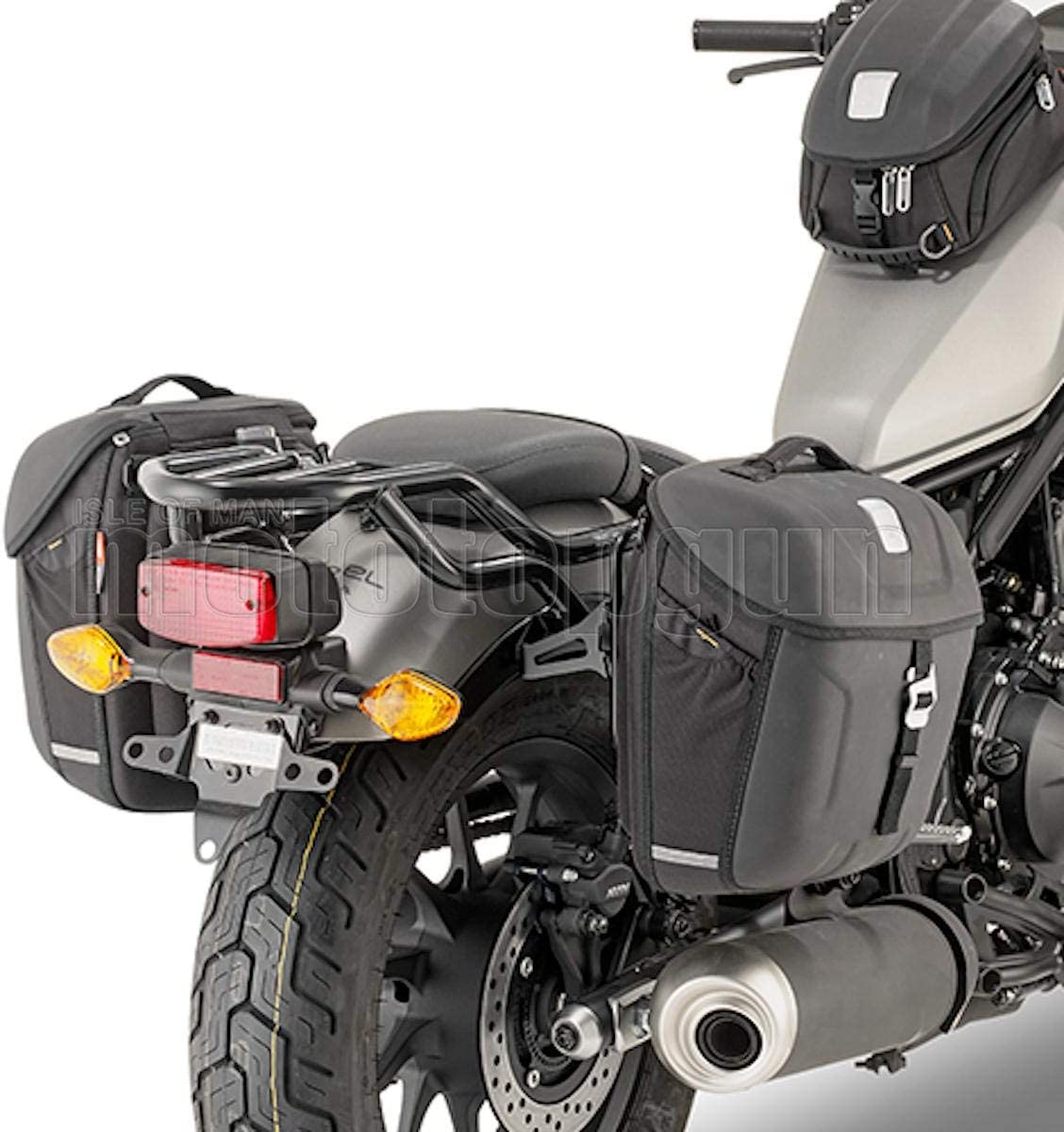 Givi Abstandshalter Satteltaschen Mt501 Kompatibel Mit Honda Cmx 500 Rebel 2017 17 2018 18 Auto