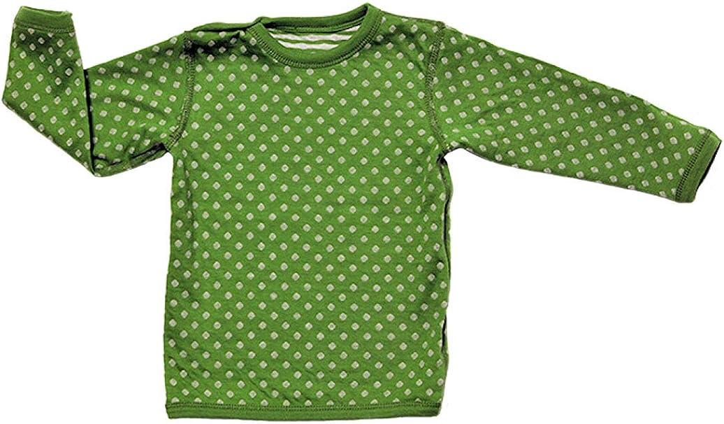 Leela Cotton - Camiseta Reversible de Manga Larga para niño ...