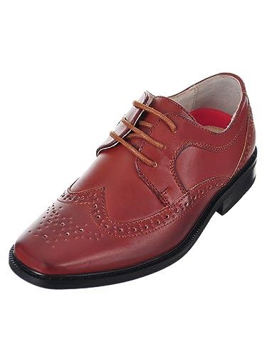 9b0a9a45f345 Joseph Allen Boys  Dress Shoes - tan