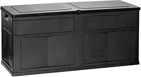 Mojawo XL Kussenbox, 320 liter, tuinbox, tuinkist