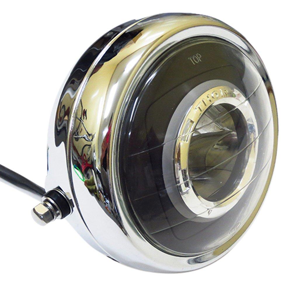 汎用イカリング付きLEDヘッドライトユニット マルチリフレクター LEDヘッドライトASSY HP005 B079RTHVRW