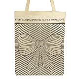 Every Good and Perfect Gift Tote Bag, 14-1/2 x 16'' H with 3'' Gusset, 12 Pack.