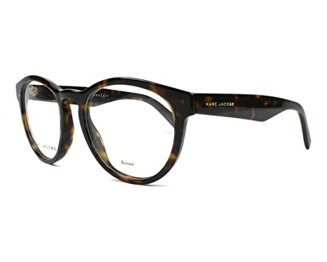 2adfc2ebcf9f Amazon.com: Marc Jacobs frame (MARC-237 086) Acetate Dark Havana ...